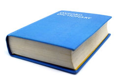 Het Engelse woordenboek van Oxford stock foto