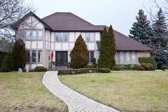 Het enige Huis van de Familie Royalty-vrije Stock Foto