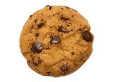 Het enige Koekje van de Chocoladeschilfer met Weg Royalty-vrije Stock Foto