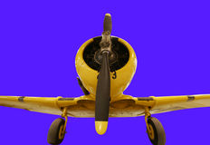 Het enige vliegtuig van de motorpropeller royalty-vrije stock fotografie