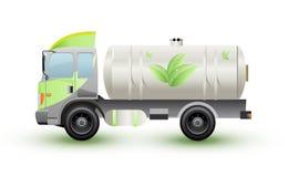 Het ennergy vrachtwagen aardgas of eco Royalty-vrije Stock Foto