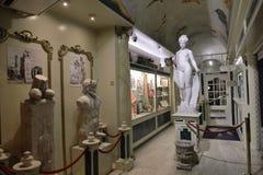 Het Erotische Museum van Amsterdam Stock Foto