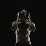Het esthetische bodybuilding Royalty-vrije Stock Afbeelding