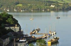 Het estuarium van het Pijltje van de rivier, Devon Stock Afbeeldingen