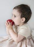 Het eten van appel Royalty-vrije Stock Fotografie