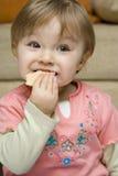 Het eten van de baby Stock Foto