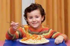 Het eten van het kind royalty-vrije stock fotografie