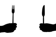 Het eten van Ijzers Royalty-vrije Stock Foto