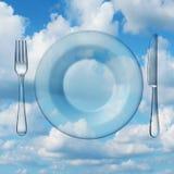 Het eten van licht vector illustratie