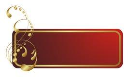 Het etiket royalty-vrije illustratie