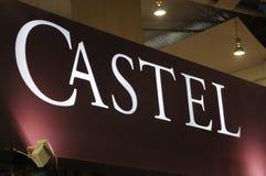 Het etiket van Castel Royalty-vrije Stock Afbeelding
