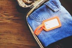 Het etiket van de bagagemarkering royalty-vrije stock fotografie