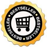 Het etiket van de best-seller Stock Fotografie