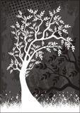 Het etiket van de boom Stock Afbeelding