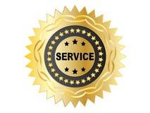 Het etiket van de dienst Royalty-vrije Stock Foto's