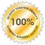 Het etiket van de kwaliteit Royalty-vrije Stock Foto