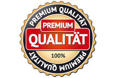 Het Etiket van de Kwaliteit van de premie Royalty-vrije Stock Afbeelding