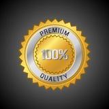 Het Etiket van de Kwaliteit van de premie Stock Foto