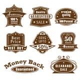 Het Etiket van de Kwaliteit van de premie Stock Afbeeldingen