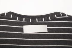 Het etiket van de t-shirt Royalty-vrije Stock Foto's