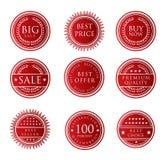 Het Etiket van de verkoop Stock Afbeelding