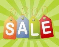 Het etiket van de verkoop Royalty-vrije Stock Afbeeldingen