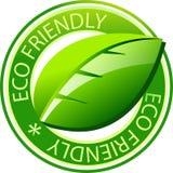 Het etiket van Eco Stock Afbeelding