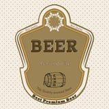 Het etiket van het bier Royalty-vrije Stock Afbeeldingen