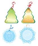 Het etiket van Kerstmis Royalty-vrije Stock Afbeelding