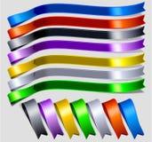 Het etiket van kleuren Stock Fotografie