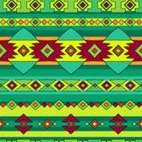 Het etnische patroon van Peru Stock Afbeelding