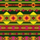 Het etnische patroon van Peru Royalty-vrije Stock Afbeeldingen