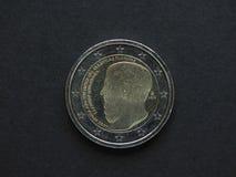 Het euro muntstuk (van EUR) van Griekenland Stock Fotografie