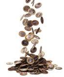 Het euro vallen Stock Fotografie