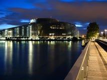 Het Europees Parlement 01, Straatsburg, Frankrijk Stock Afbeelding