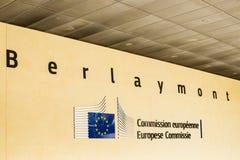 Het Europees Parlement Stock Foto's