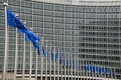 Het Europees Parlement Stock Afbeeldingen