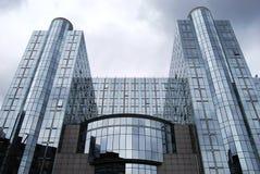 Het Europees Parlement Stock Foto