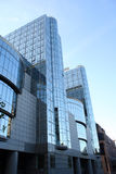 Het Europees Parlement - Brussel Stock Foto