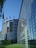 Het Europees Parlement in Straatsburg Royalty-vrije Stock Afbeeldingen
