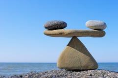 Het in evenwicht brengen Stock Foto's