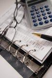 Het in evenwicht brengen van de rekeningen Royalty-vrije Stock Fotografie