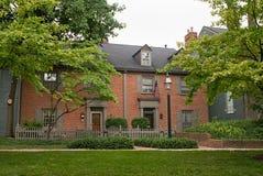 Het exclusieve Flatgebouw met koopflats van het Huis in de stad Stock Fotografie