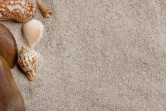 Het exemplaarruimte van het zand Royalty-vrije Stock Foto's