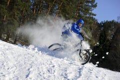 Het extreme de winter cirkelen royalty-vrije stock afbeeldingen