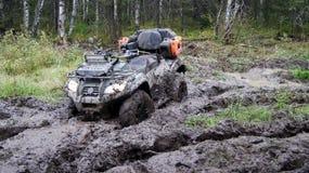 Het extreme drijven ATV Stock Fotografie
