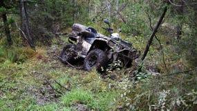 Het extreme drijven ATV Royalty-vrije Stock Afbeelding