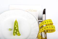 Het extreme op dieet zijn Royalty-vrije Stock Foto
