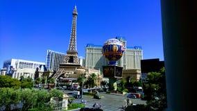 Het fantastische Hotel van Parijs, Las Vegas, Nevada stock foto