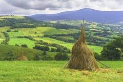 Het fantastische landschap van het dagplatteland Stock Fotografie